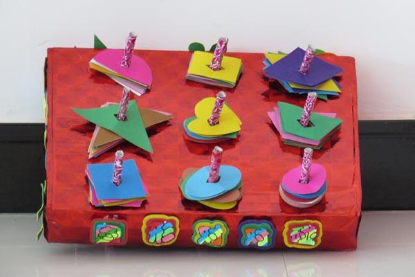 教师自制玩教具-幼儿园风采-前进农场幼儿园