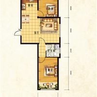 2室1厅1卫  77.81平米