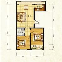 2室1厅1卫  98.57平米
